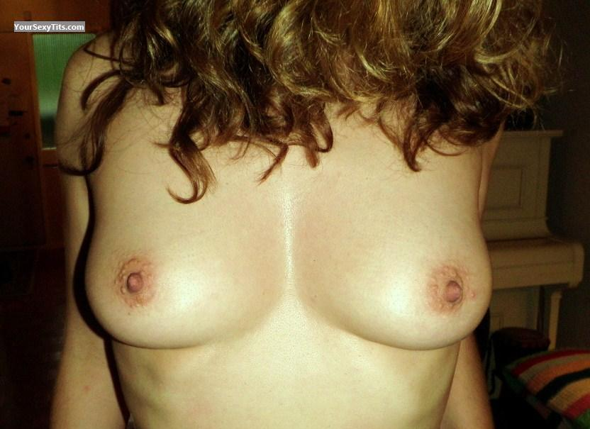 Tit Flash: Medium Tits - MsWest from Canada